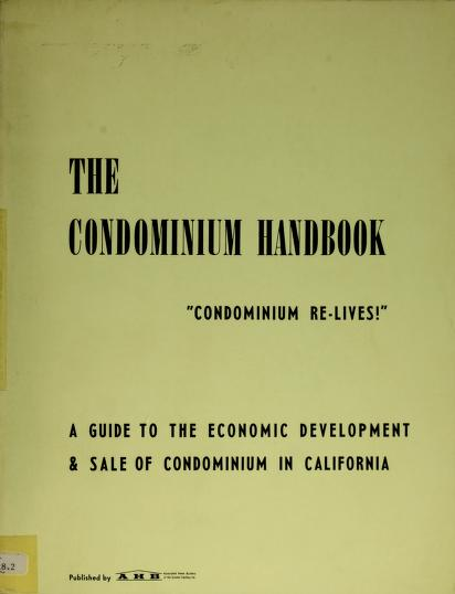 The condominium handbook by C. D. Gardner